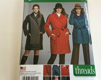 Simplicity 1015 Misses/'//Miss Petite Lined Coat or Jacket   Sewing Pattern