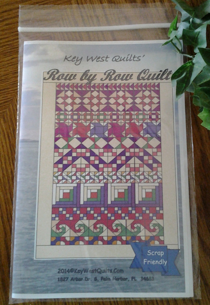 Row by Row Quilt Pattern image 0