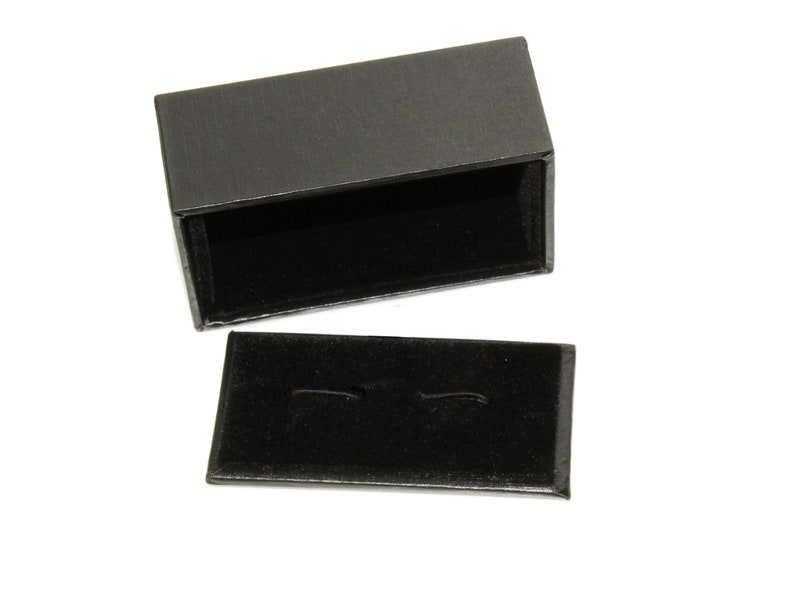 Black Glasses Eyeglasses Cufflinks Boyfriend Cufflinks Boss Unique Gift Husband Novelty Accessory Gift Idea For Father