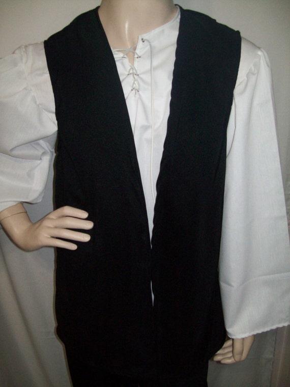 Pirate Boy/'s Vest Size 13//14 Various Colors New Handmade Renaissance