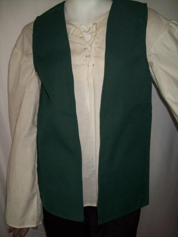 New Handmade Renaissance Boy/'s Peasant Shirt Size 5//6 Various Colors