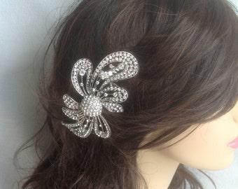 Bridal Hair Brooch Etsy