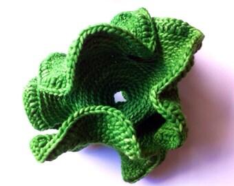 Hyperbolic Sculpture - crocheted