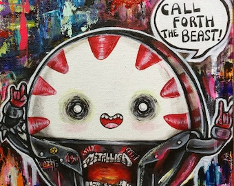 Peppermint Butler   - Archival Fine Art Print 11x14 Adventure Time Punk Metal Goth Cute Finn and Jake Art