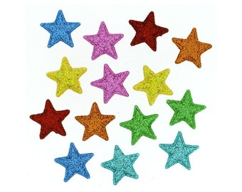 Starlight Starbright Stars Buttons Sewing Crafts Novelty Jesse James Button Embellishments