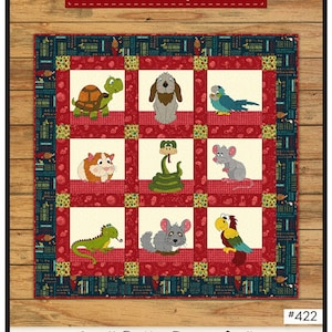 Pattern~dog-gone Cute~applique Pattern by Whole Country Caboodle