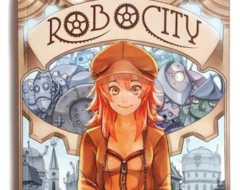 Robocity graphic novel comic ( English edition)