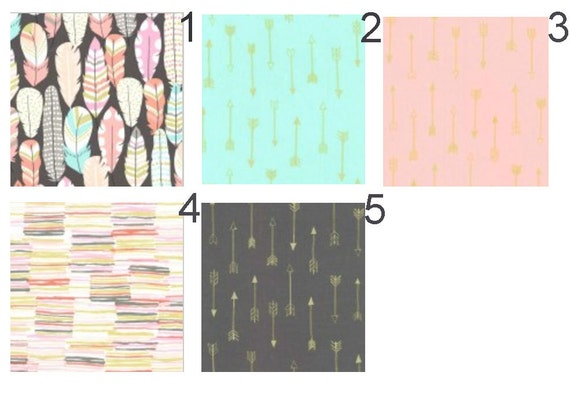 Nursery Bedding And Covers Gold And Blush Crib Sheet