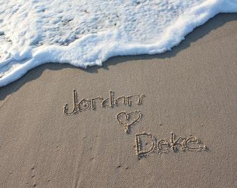 Write my name on sand