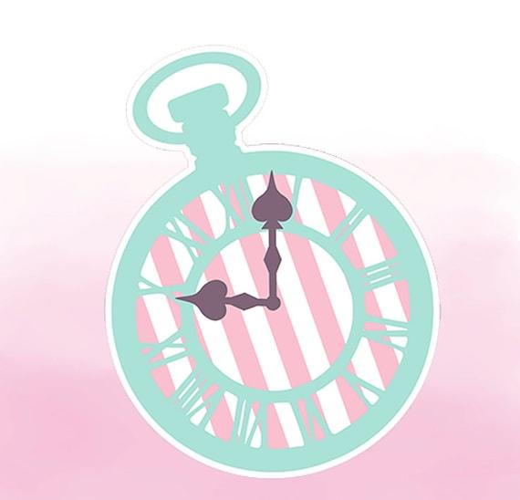 Alice In Wonderland Party Shabby Chic Decoration Printable Etsy