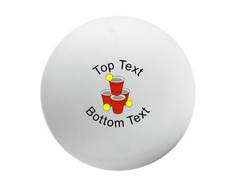 Adult Birthday Ping Pong Ball Favors 21st 25th 30th 40th 45th 50th Girl Boy Bash Festive Tropical Nautical Tea Party Favors Thank You Gifts