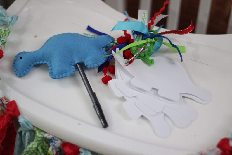 Dinosaur Guestbook Pen FREE SHIPPING