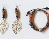 Fall Earring and Bracelet...