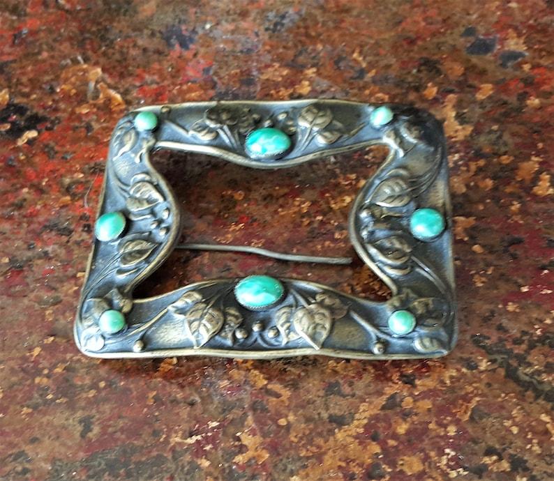 Art Nouveau Pin Antique Brooch Art Nouveau Brooch Sash Buckle Antique Brooches and Pins Art Nouveau Jewelry
