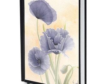 Purple Poppies Journal