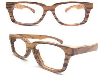 273598e3e7 customize prescription AUTUMN PARIS Handmade zebra Wooden Takemoto  Sunglasses Glasses