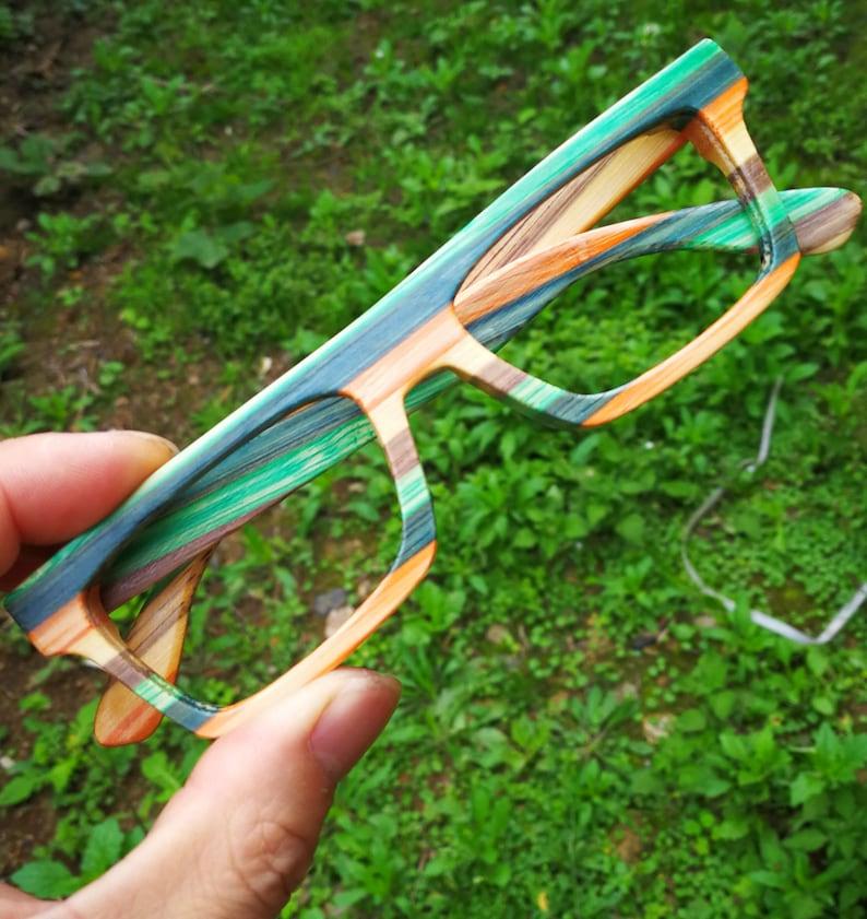 a3efb900cafd Takemoto KNIGHT Handmade color bamboo customized prescription