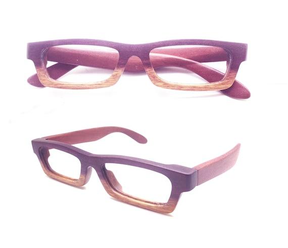 134bd6b99f love-wood two toned purple wood customized Prescription