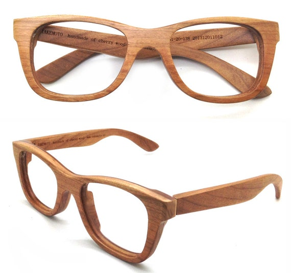 4fc95880e7ac takemoto. 0. American Cherry Wood Handmade Wooden Takemoto Brown glasses  frames Sunglasses