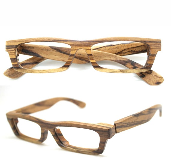 710a6094a2b LOVE-WOOD zebra wood TAKEMOTO eyeglasses glasses frame with