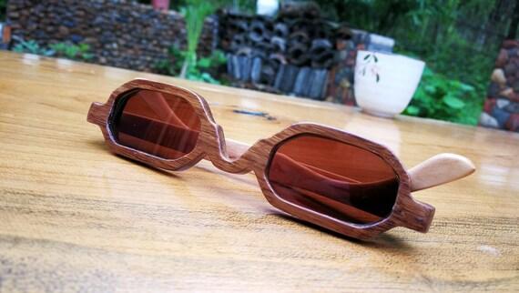 19d02616bbe4 takemoto - TAKEMOTO bamboo MJX1603 handmade prescription sunglasses very  small eyeglasses