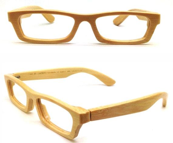 LOVE-BAMBOO handmade bamboo eyeglasses glasses frame with wood | Etsy
