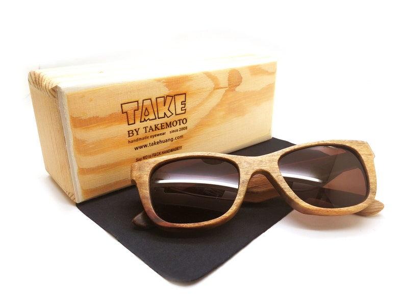 361b6db695 Free shipping lightest wood glasses in the world TAKEMOTO
