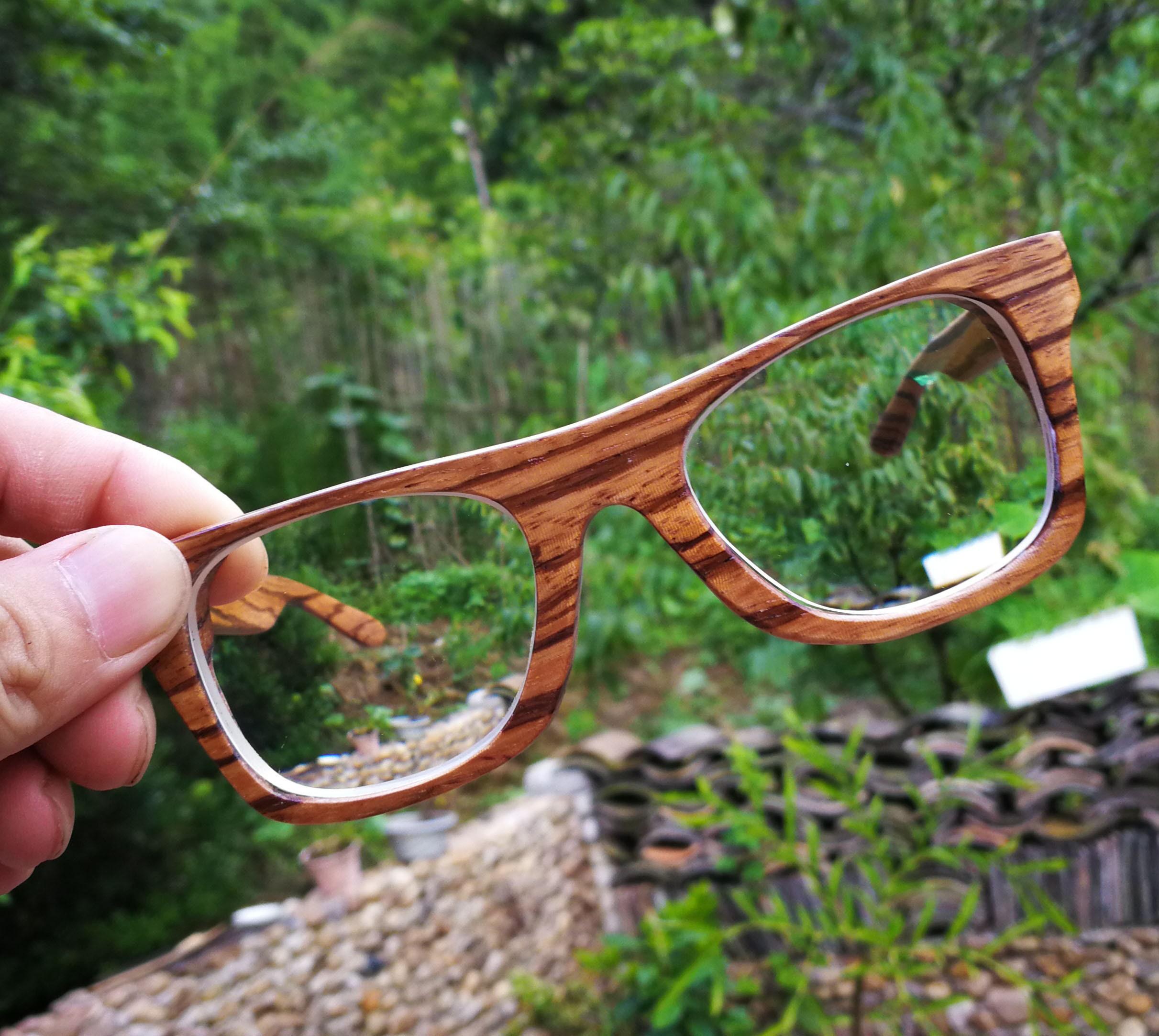 831fd71f86 Walker2011 Handmade Zebra Wood prescripiotn wooden