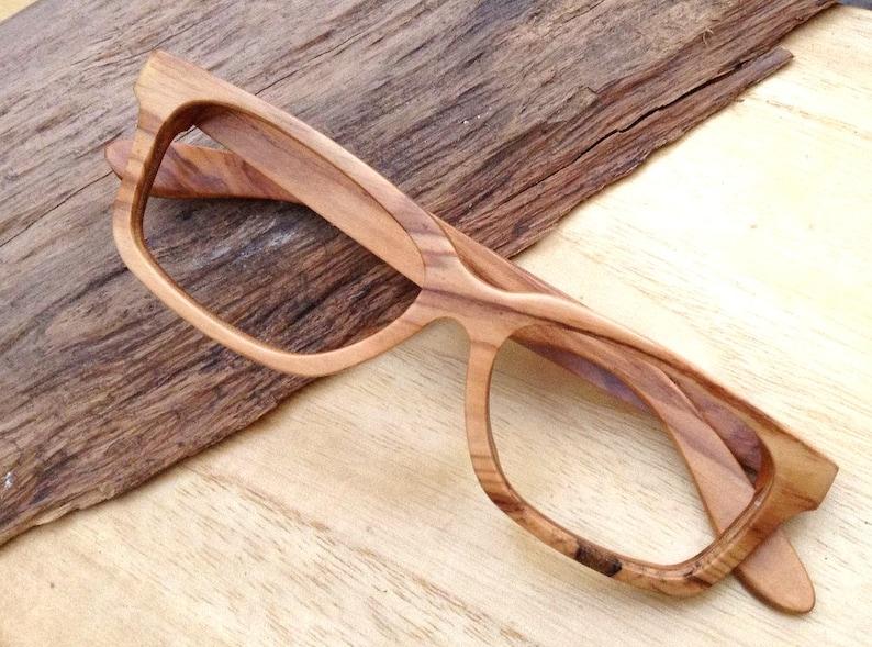 fcac3798f4 Free shipping AAAA olive wood TAKEMOTO handmade glasses AUTUMN