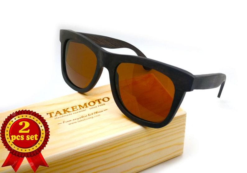 0e52a21025 TAKEMOTO MJX1056 Handmade Wooden wood bamboo polarized