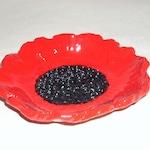 Poppy Garlic Grater; garlic bowl; poppy bowl;food preparation