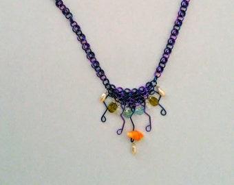 Deep Blue Sea Necklace