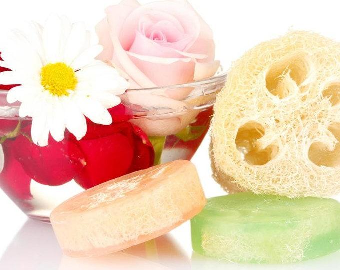 Love Spell Loofah Soap Bar, Exfoliating & Moisturizing Skincare
