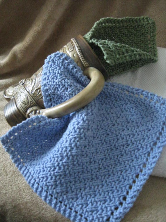 American Express Card >> Knit Washcloth Pattern..Simple Weave on Diagonal With ...
