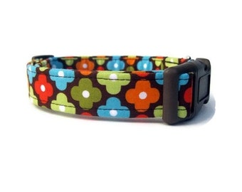 Fall Dog Collar - Autumn Annie Flowers