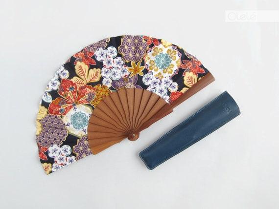 Japanese Hand Fan Izumi Wedding Gift Fan Romantic Hand Fan Etsy