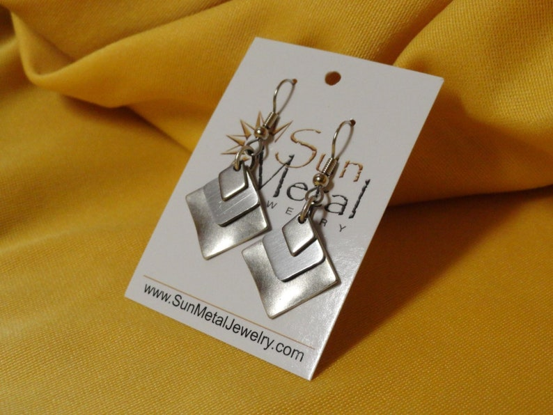 Silver silver who loves silver earrings style 292 image 0