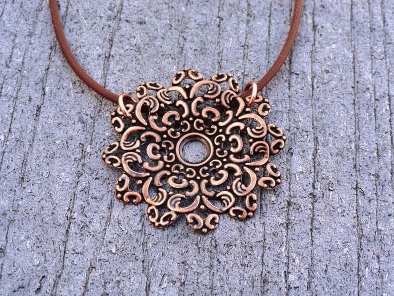 Style #1405 Are you kidding me copper pendant