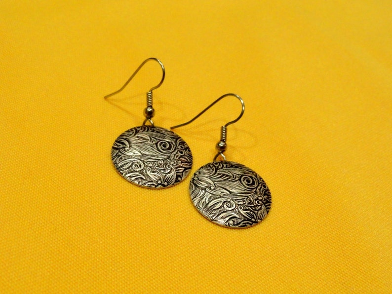 Simply super silver earrings Style 242 image 0