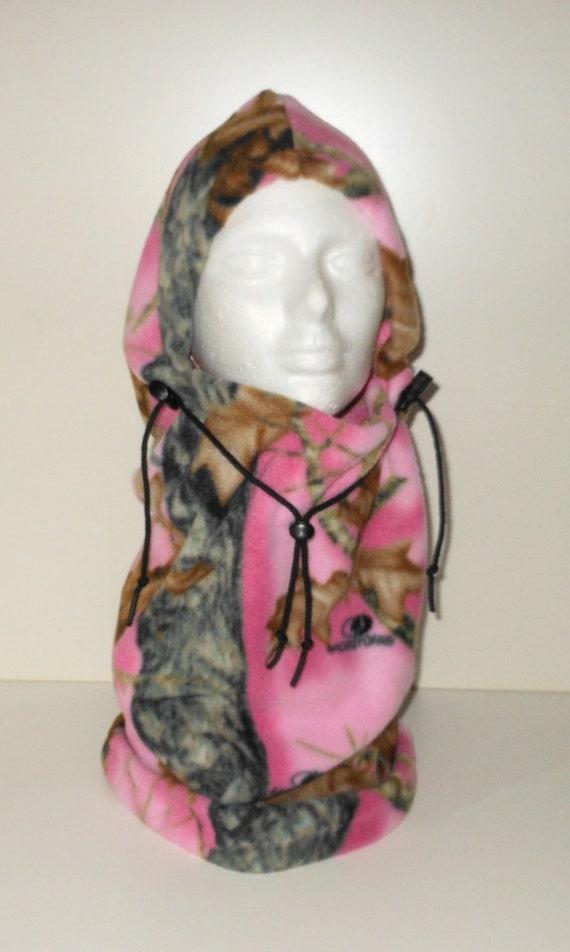 Mossy Oak Pink Camouflage Balaclava Hat Camo Hat Ski Mask  f44fedc2b10