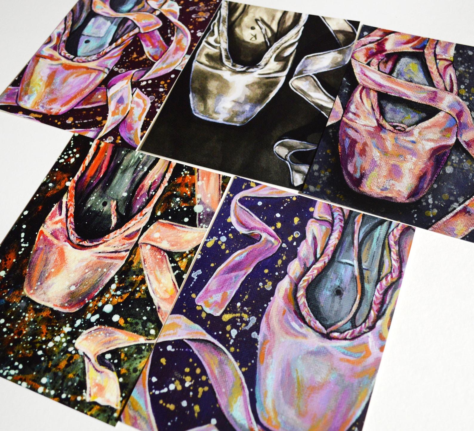 ballet pointe shoe fine art print