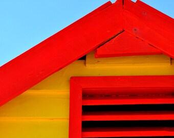 Beach House Print