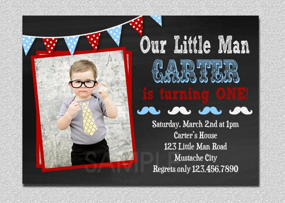 Little man invitation little man birthday invitation little etsy image 0 filmwisefo