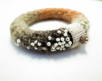 Crochet Jewelry (Stars 2-a) Crochet Bangle