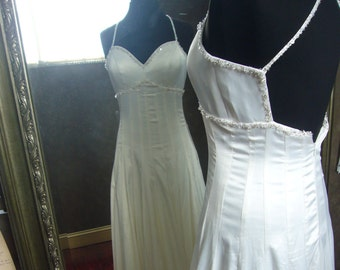 Ginger Rogers Swing Time Inspired Wedding Dress Custom Handmade to Your Measurements