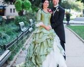 Marie Antoinette Wedding Dress, Victorian Wedding Dress, Steampunk Wedding Dress