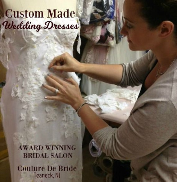 Custom Made Wedding Dress and Design Your Own Wedding Dress from Multi  Award Winning Bridal Salon in Teaneck, NJ