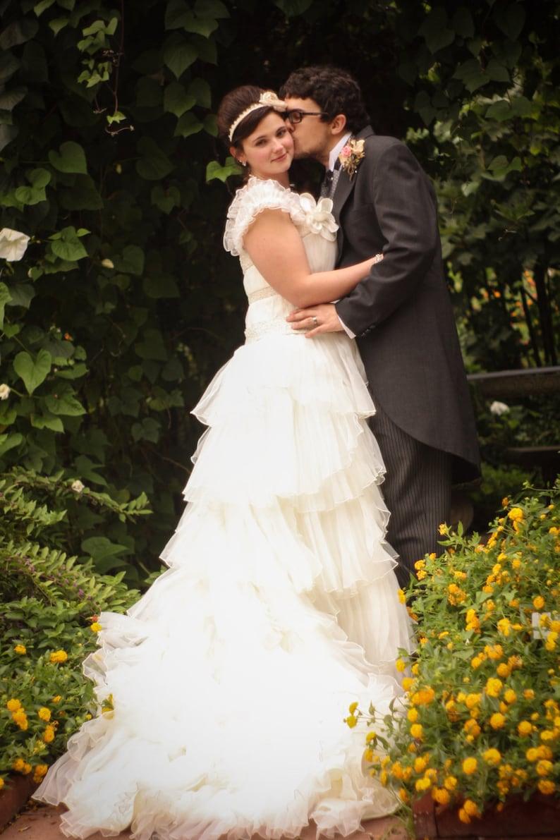 Image 0: Ruffled Country Wedding Dresses At Websimilar.org