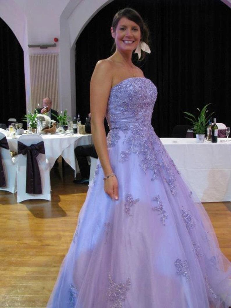 Purple Wedding Dresses.Purple Wedding Dress Lavender Wedding Dress Lilac Wedding Dress Light Purple Wedding Dress