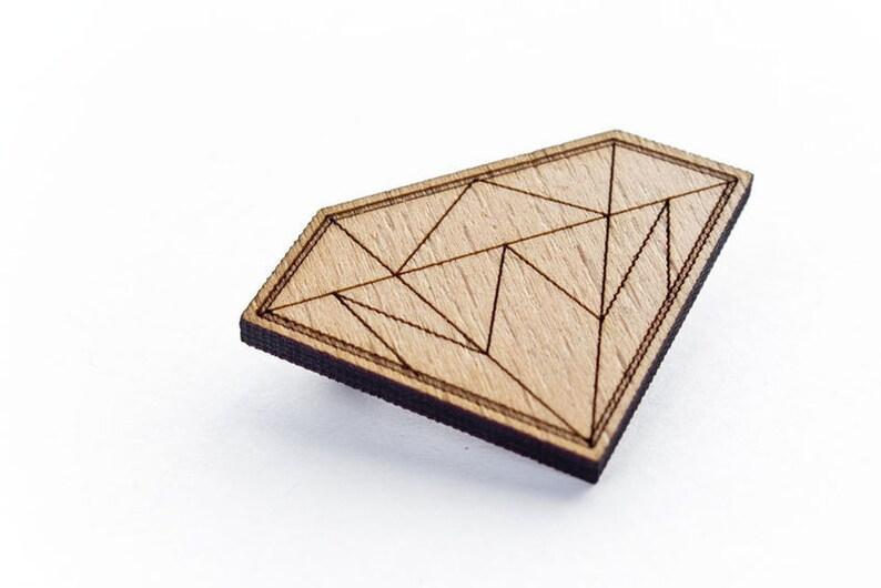 Diamond brooch image 0